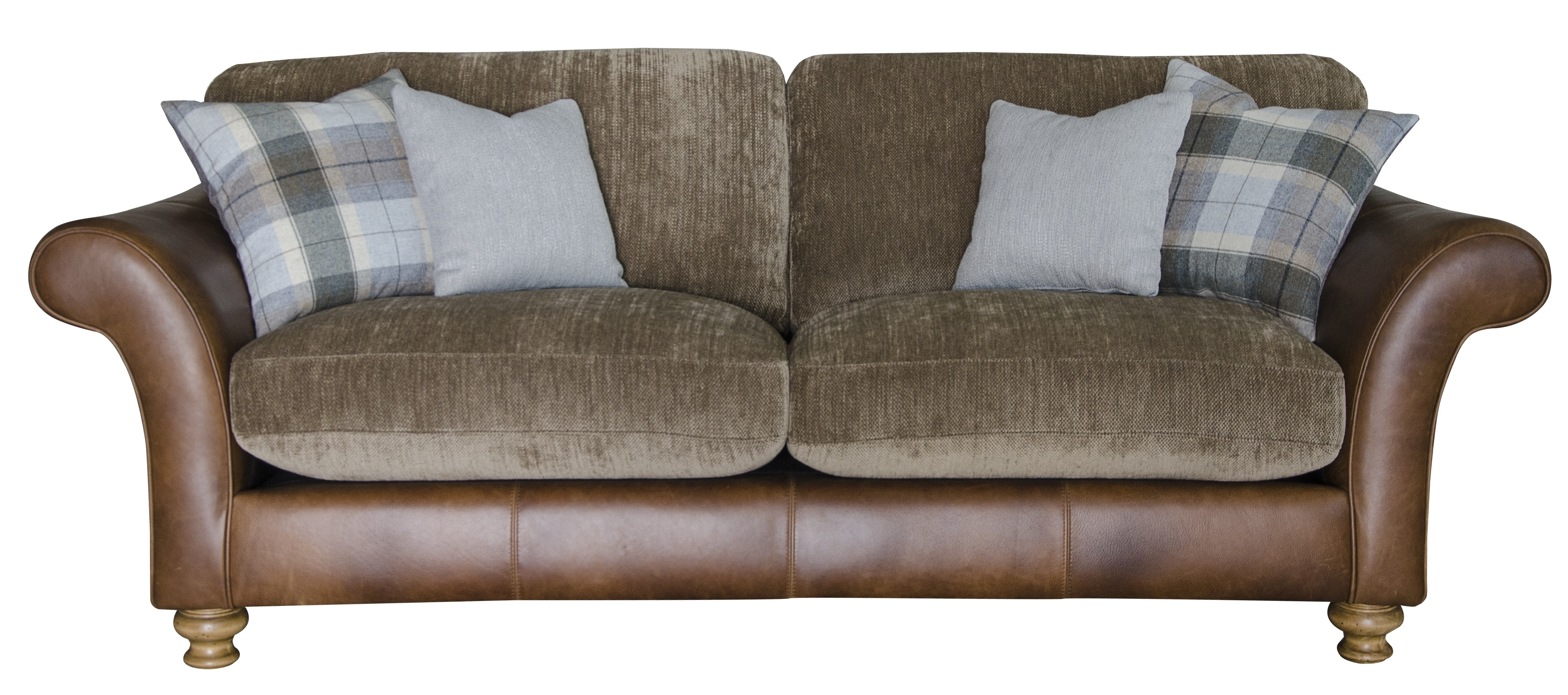 Leather And Fabric Combination Sofas • Leather Sofa Inside Leather And Cloth Sofas (View 5 of 10)