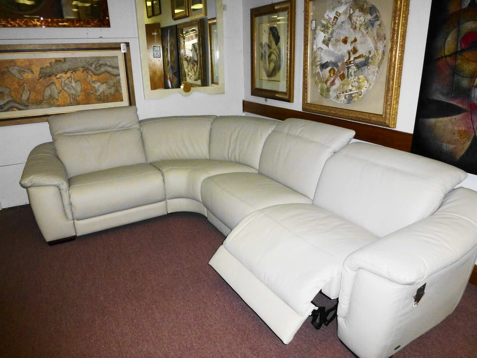Leather Motion Sectional Sofa Alessandro Power Piece Home Theater Within Leather Motion Sectional Sofas (Image 6 of 10)