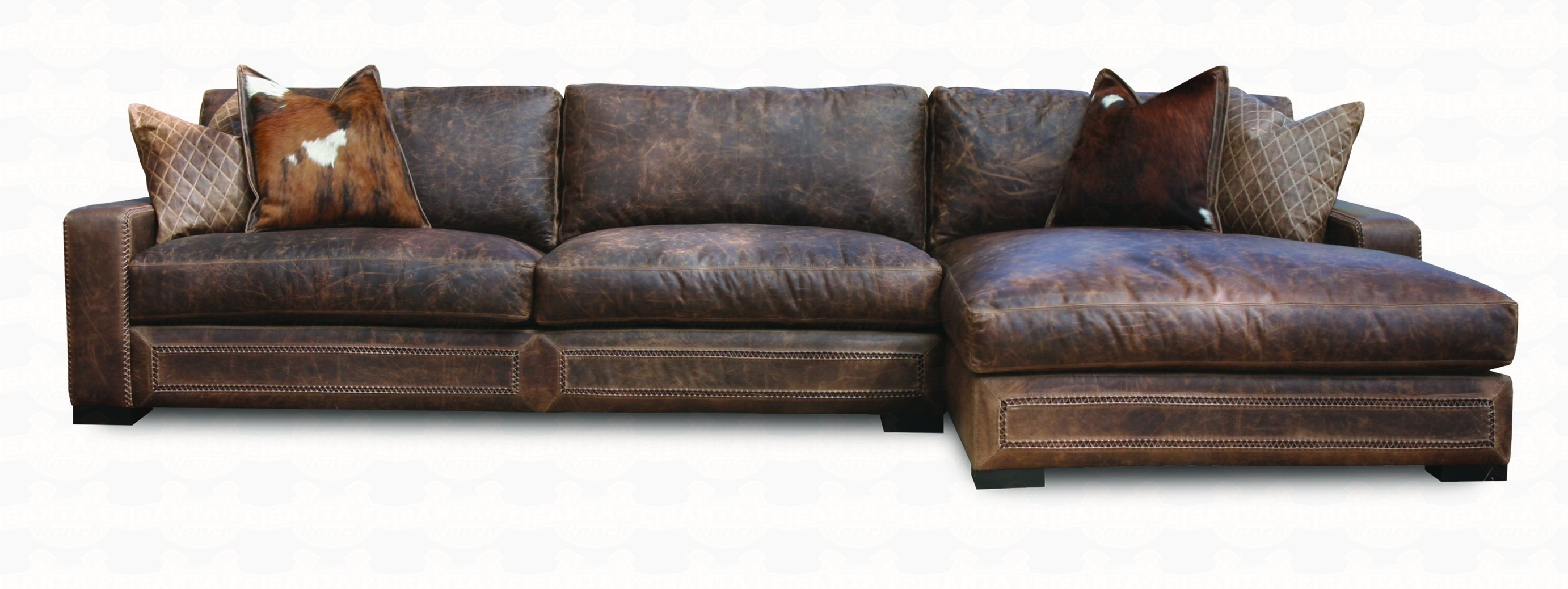 Leather Sectional Sofas Be Equipped Couch With Chaise Be Equipped Within Leather Sectional Sofas (View 7 of 10)