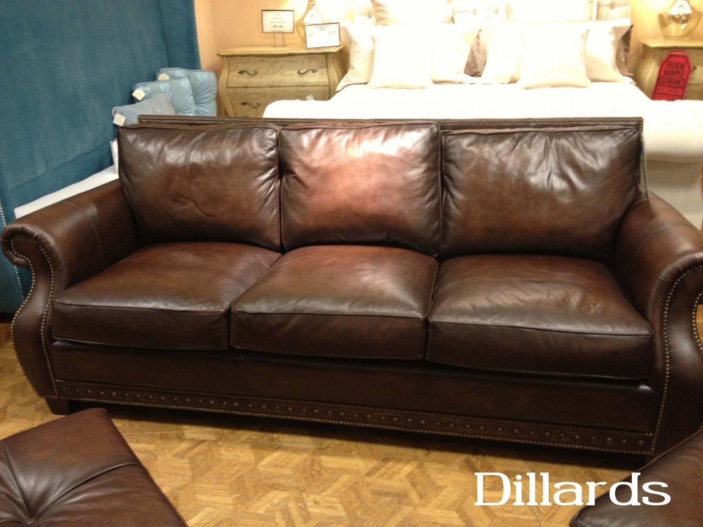 Leather Sofa Dillards Pertaining To Dillards Sectional Sofas (Image 7 of 10)