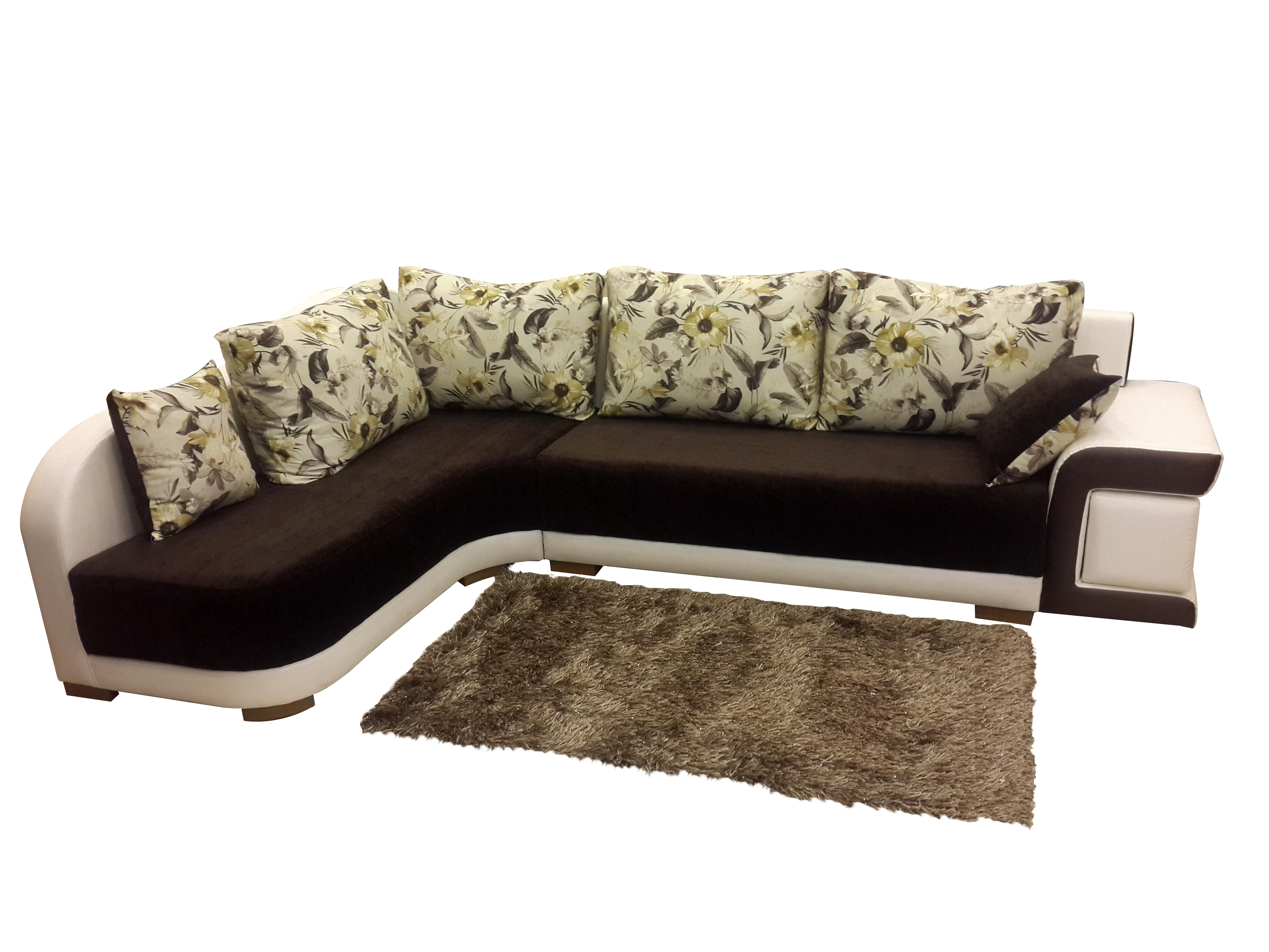 Left Handed Lorial L Shaped Sofa Set From Onlinesofadesign Within L Shaped Sofas (View 8 of 10)
