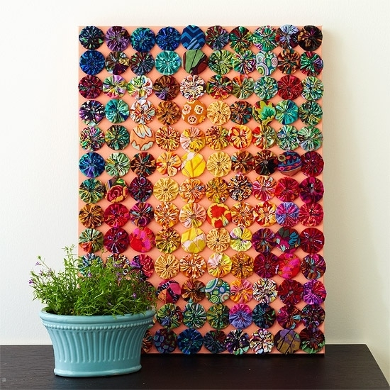 Let It Shine Design: Sewing / Craft Room Decor.. Bare Walls. (Image 9 of 15)