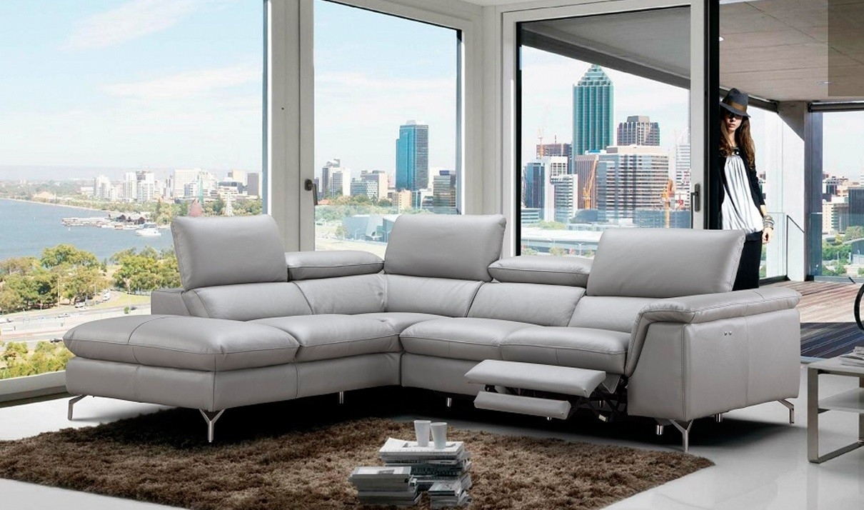 Light Grey Sectional Sofa – Home And Textiles In Light Grey Sectional Sofas (View 4 of 10)