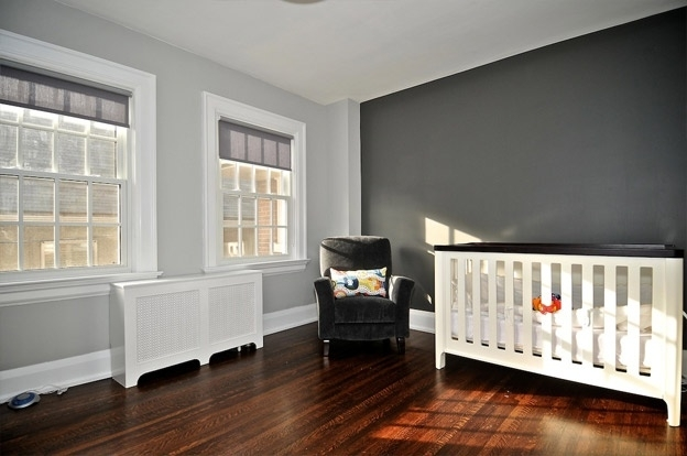 Light Grey Walls With Blue Accent Wall – Google Search | Home Intended For Gray Wall Accents (View 14 of 15)