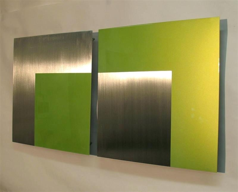 Lime Green Paintings Lime Green Wall Art Lime Green Abstract Inside Lime Green Abstract Wall Art (Image 11 of 15)