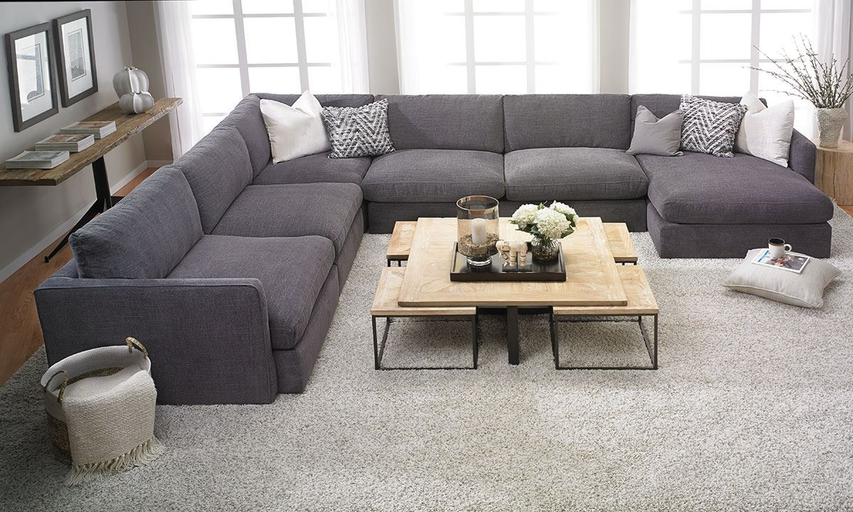 Lincoln Park Handmade Modular Sectional | The Dump Luxe Furniture Outlet Pertaining To Goose Down Sectional Sofas (Image 8 of 10)