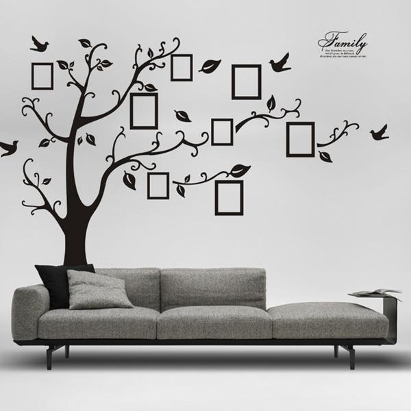 Living Room : Amazing Wall Decoration Stickers For Living Room Inside Fabric Tree Wall Art (View 2 of 15)
