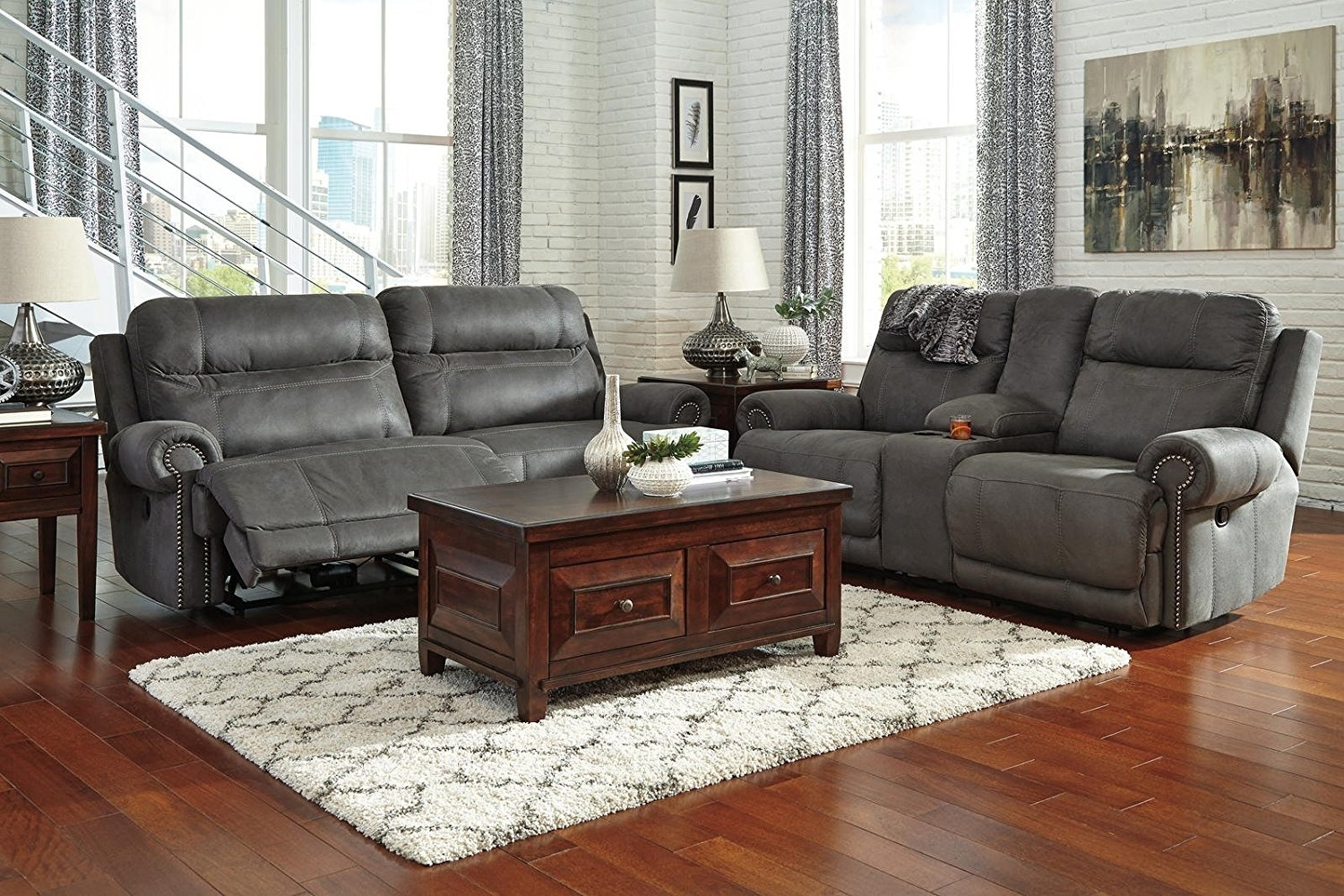 Living Room : Ashley Furniture Sectional Sofas Leather Sectional For Gallery Furniture Sectional Sofas (View 9 of 10)
