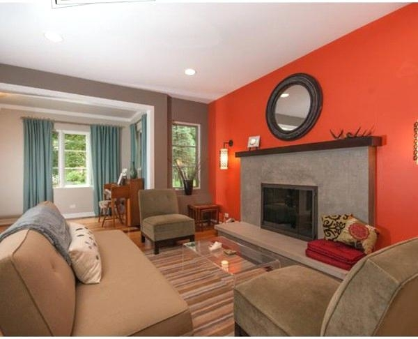 Living Room Color Idea – Home Decoration Pertaining To Brown Furniture Wall Accents (Image 11 of 15)