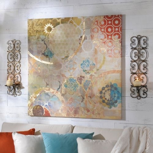 Living Room Colors Love This One!!! Festival Canvas Art Print Within Kirklands Canvas Wall Art (View 9 of 15)
