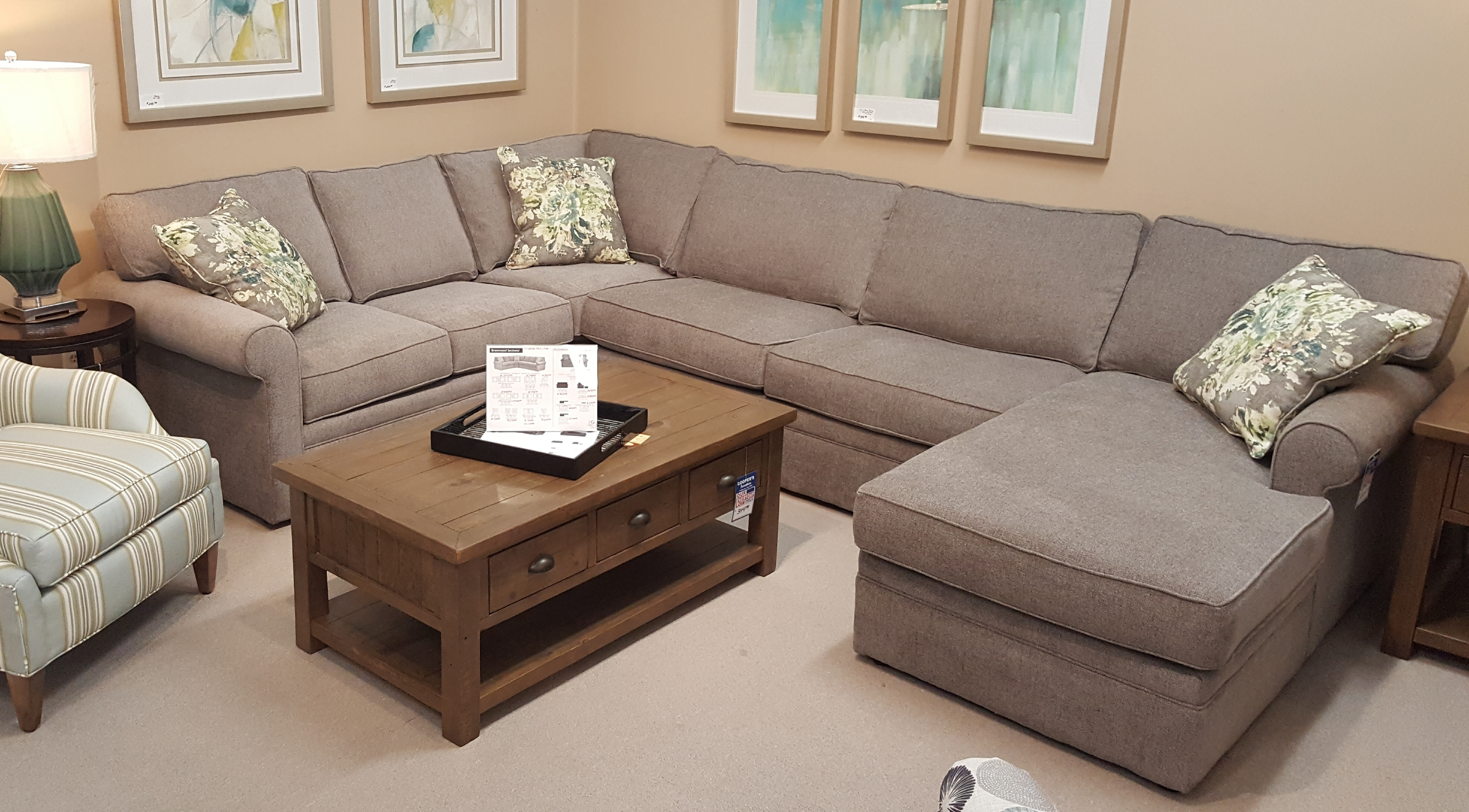 Living Room Furniture Cary Nc | Sofas, Recliners, Sectionals Inside Durham Region Sectional Sofas (Image 2 of 10)