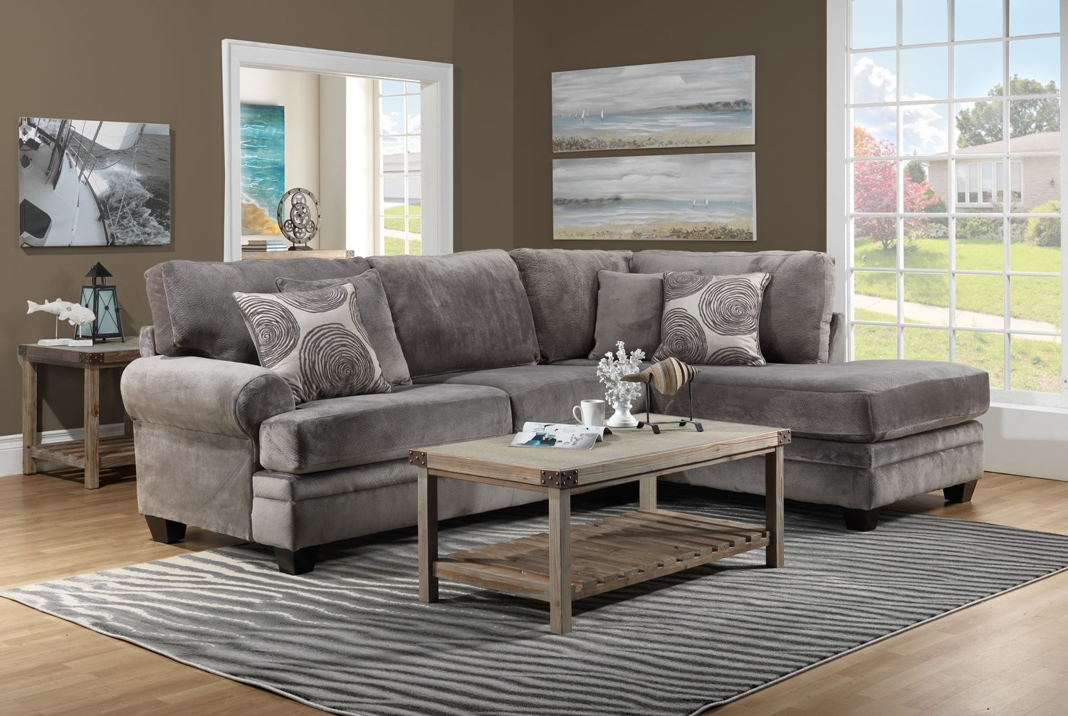 Living Room Furniture The Lana Collection Lana 2 Pc (View 10 of 10)
