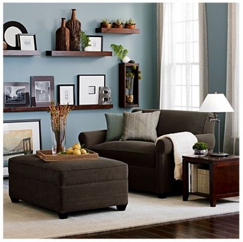 Living Room : Living Room Ideas Light Brown Sofa Ashley Brown Pertaining To Brown Couch Wall Accents (Image 11 of 15)