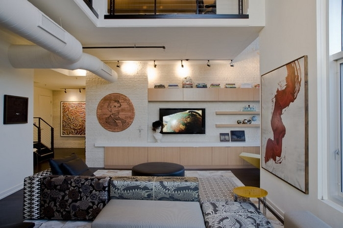 Living Room. Perfect Houzz Living Room Decor Ideas: Painting in Houzz Abstract Wall Art