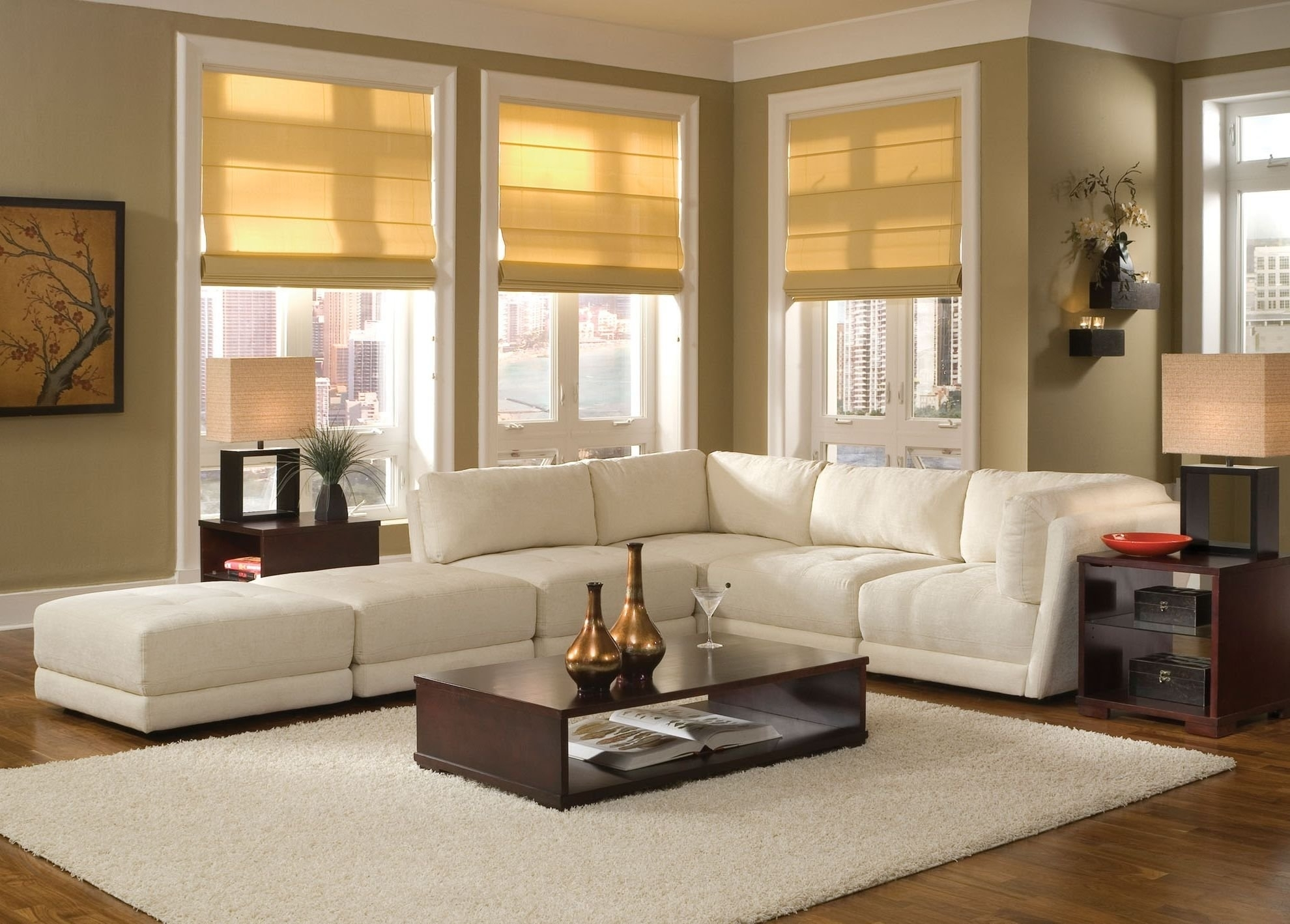 Living Room : Small Living Room With Sectional Sofa Plus Most With Sectional Sofas Decorating (View 6 of 10)