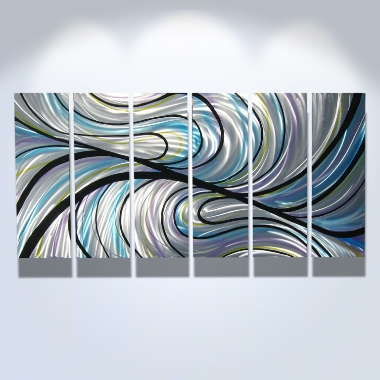 Living Room : Wonderful Large Abstract Metal Wall Art Sculpture Inside Kingdom Abstract Metal Wall Art (Image 3 of 15)