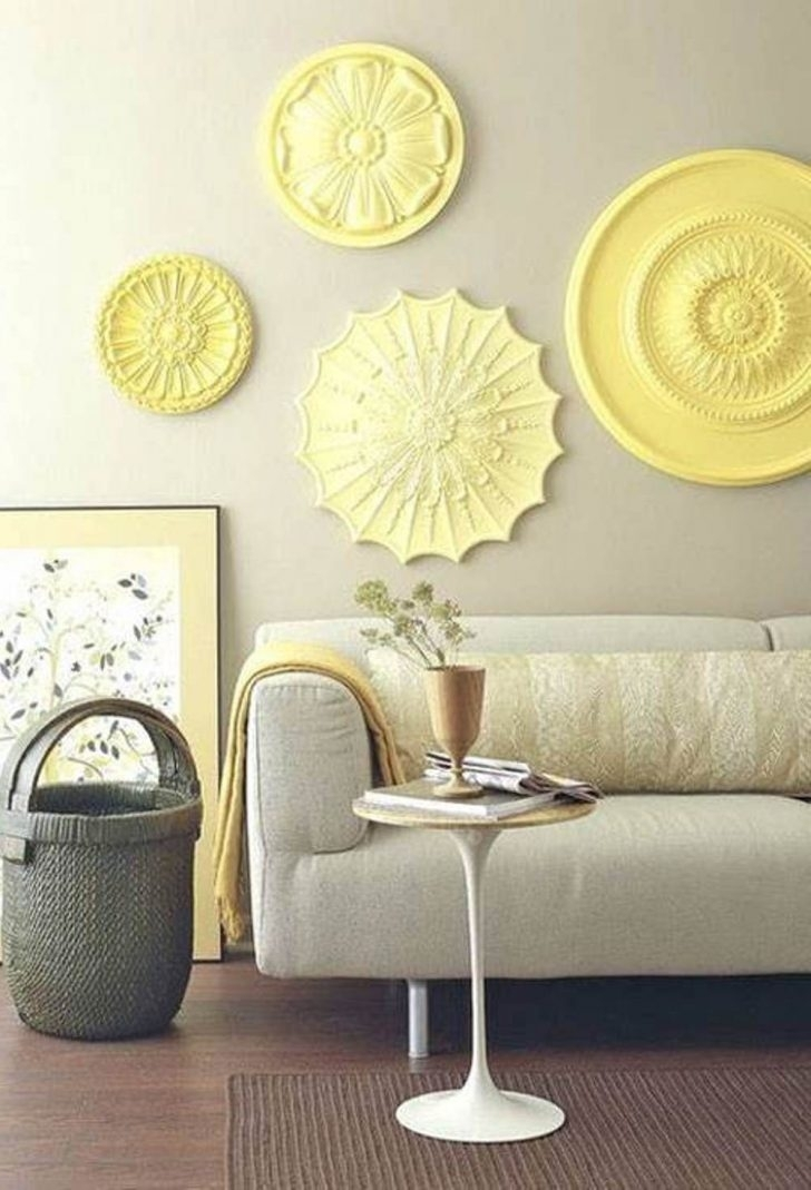 Living Room : Wonderful Wall Art Ideas For Living Room With Yellow For Yellow Wall Accents (Image 5 of 10)
