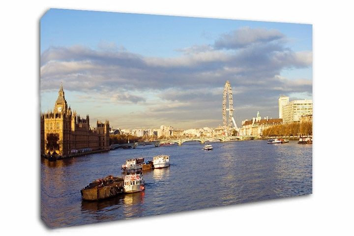 London Canvas Prints – London Canvas Art With Regard To Canvas Wall Art Of London (Image 9 of 15)