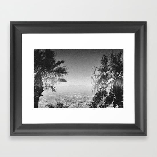 Los Angeles Framed Art Printwesley Bird | Society6 With Regard To Los Angeles Framed Art Prints (View 3 of 15)