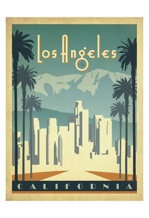 Los Angeles Posters At Allposters With Regard To Los Angeles Framed Art Prints (Image 12 of 15)