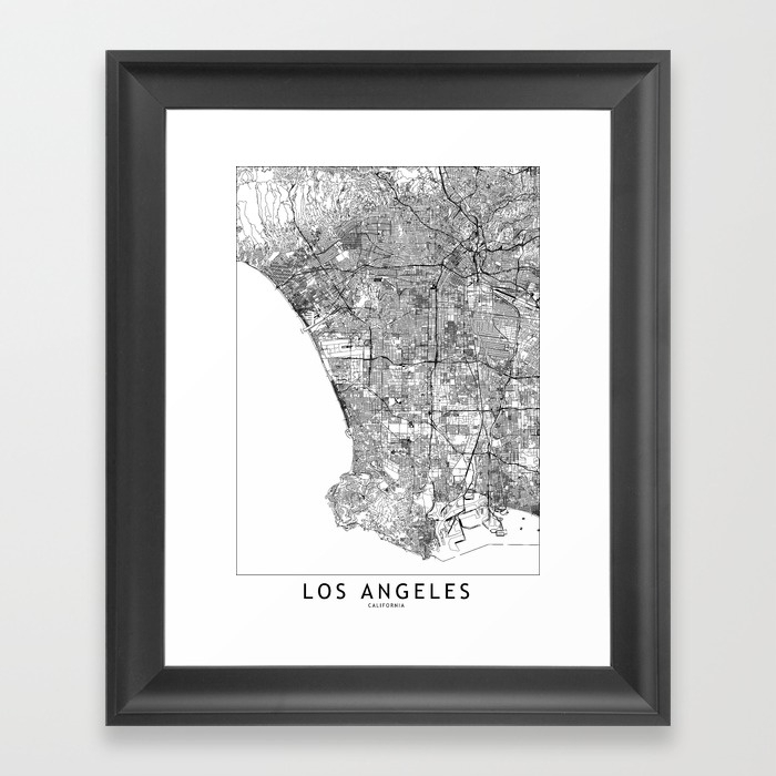 Featured Photo of Los Angeles Framed Art Prints