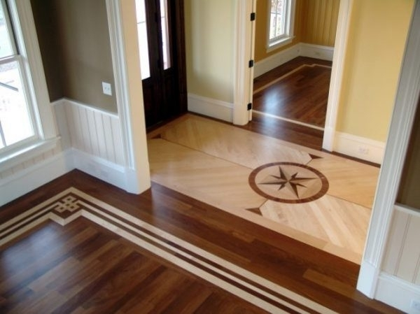 Lovable Laminate Flooring Hallway Laying Using Parquet Wood Tile Regarding Wall Accents With Laminate Flooring (View 12 of 15)