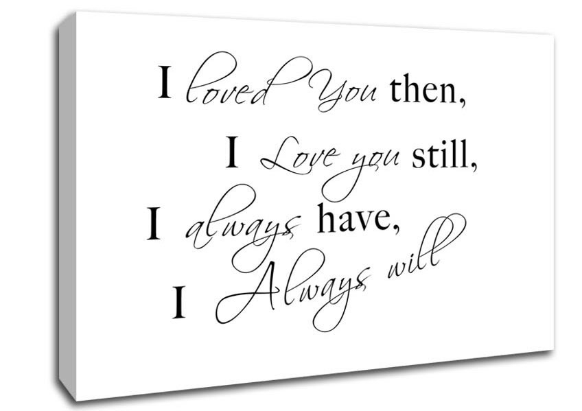 Love Quotes Canvas Art | Wallartdirect.co (Image 7 of 15)