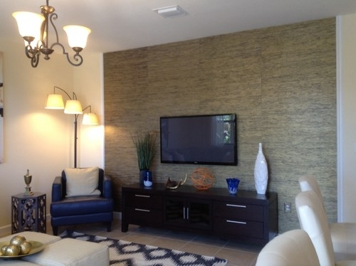 Featured Photo of Wall Accents Behind Tv