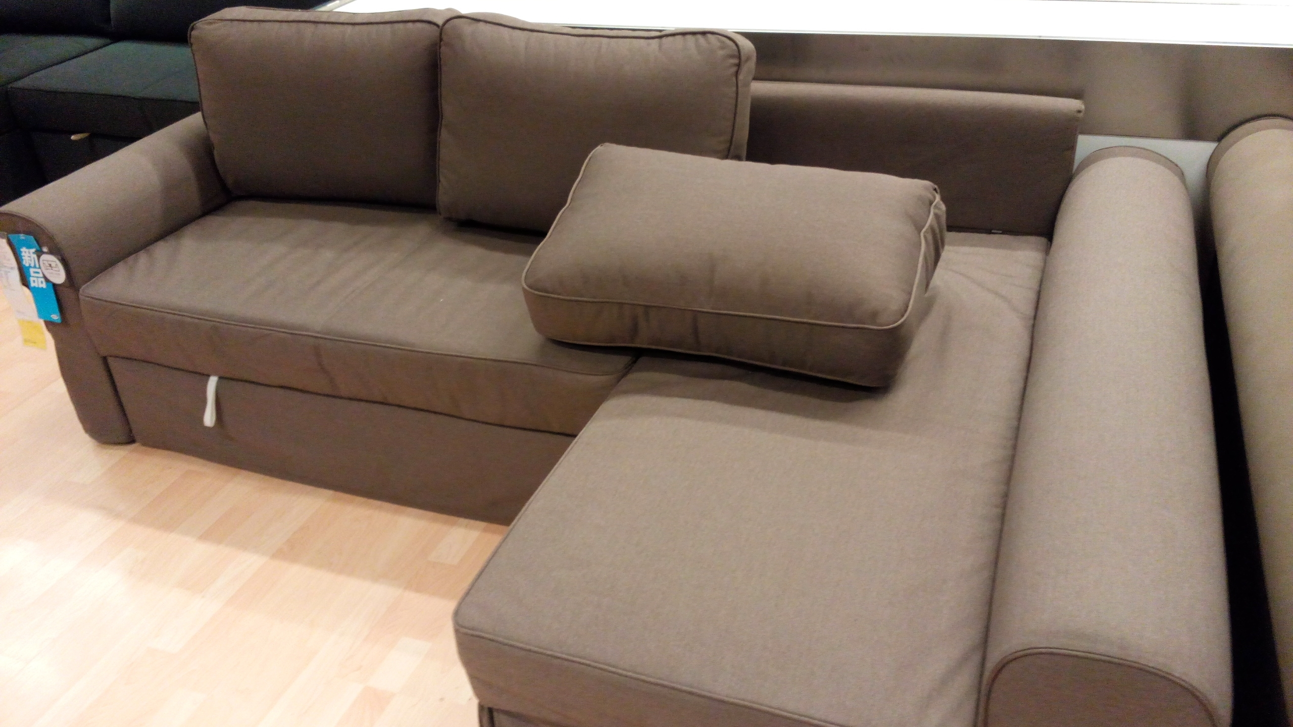 Lovely Manstad Sectional Sofa Bed Storage From Ikea 94 In Big Sofas With Manstad Sofas (Image 8 of 10)