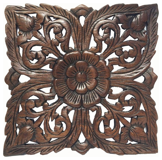Lovely Rustic Wood Wall Decor | About My Blog Intended For Asian Wall Accents (Image 12 of 15)