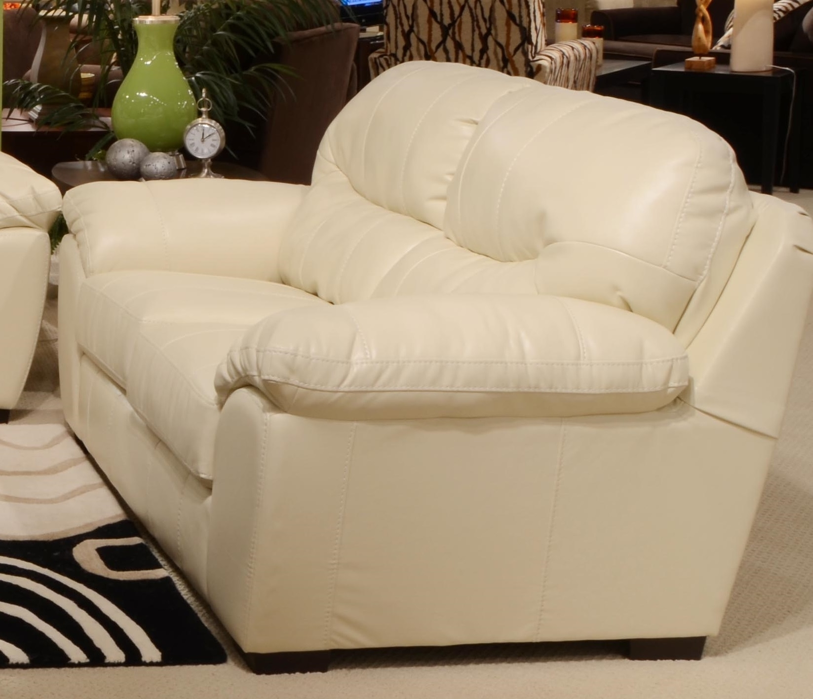Loveseat : Couch Loveseat Set Sofa And Loveseat Off White Leather Throughout Off White Leather Sofas (View 10 of 10)