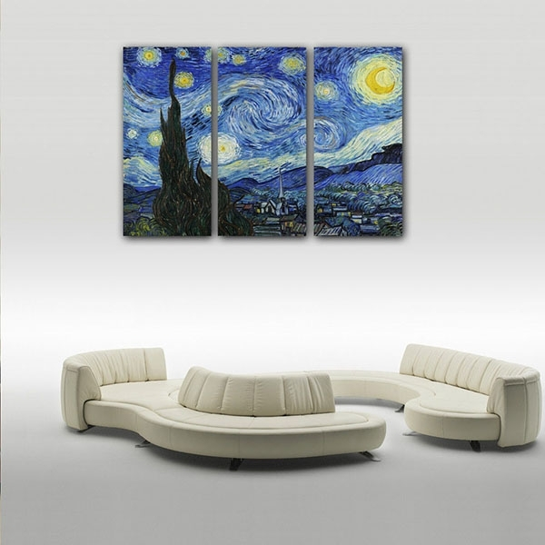 Low Price For Framed Canvas Art Print Starry Sky Wall Art Canvas Regarding Howard Stern Canvas Wall Art (Image 10 of 15)