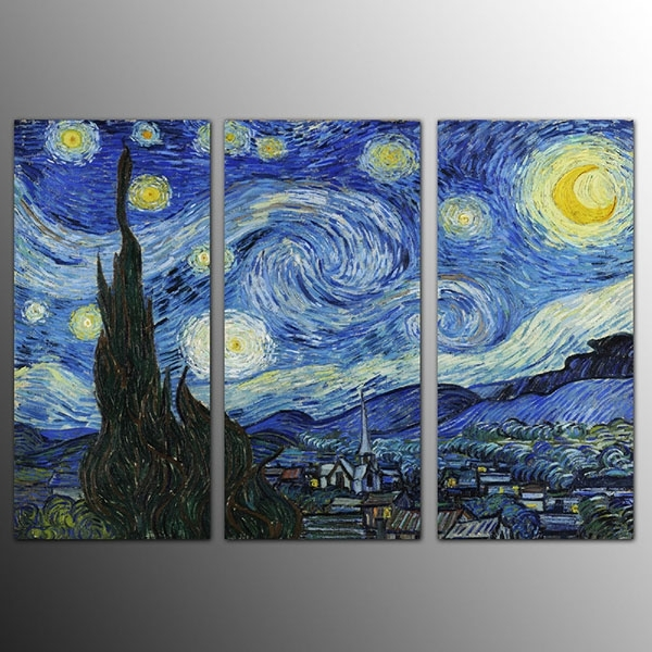 Low Price For Framed Canvas Art Print Starry Sky Wall Art Canvas Within Howard Stern Canvas Wall Art (Image 12 of 15)