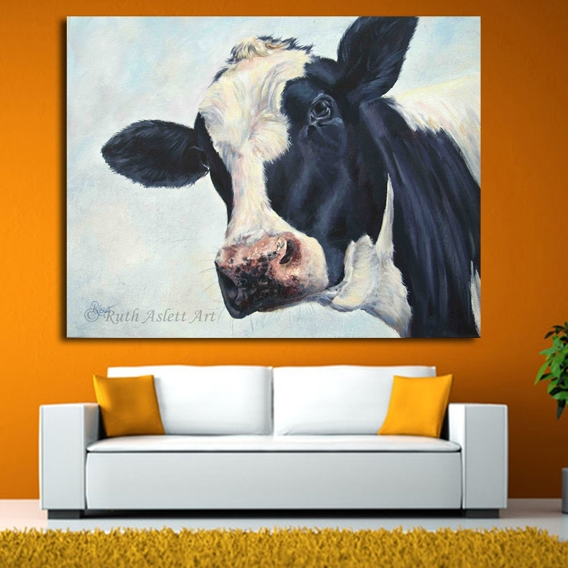 Lowes Cow Painting Promotion Shop For Promotional Lowes Cow Within Lowes Canvas Wall Art (Image 10 of 15)