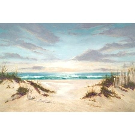 Lush Images Beach Art Ideas Exquisite Ideas Beach Wall Art Canvas Intended For Canvas Wall Art At Walmart (Image 3 of 15)
