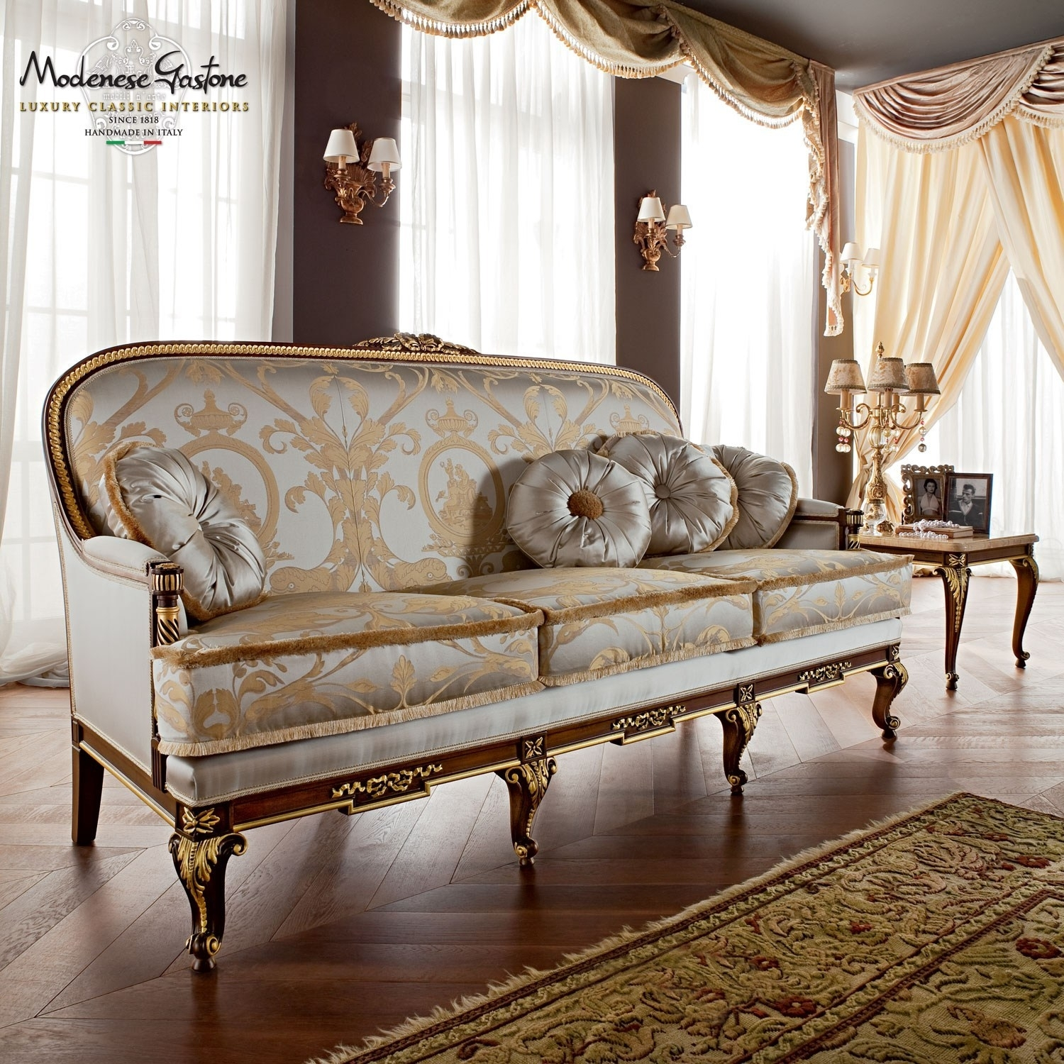 Luxury Classic Design Sofas Collection Upmarket Furniture Luxury Throughout Classic Sofas (Image 7 of 10)