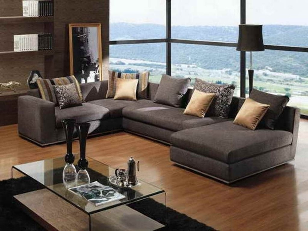 Featured Photo of Deep Seating Sectional Sofas
