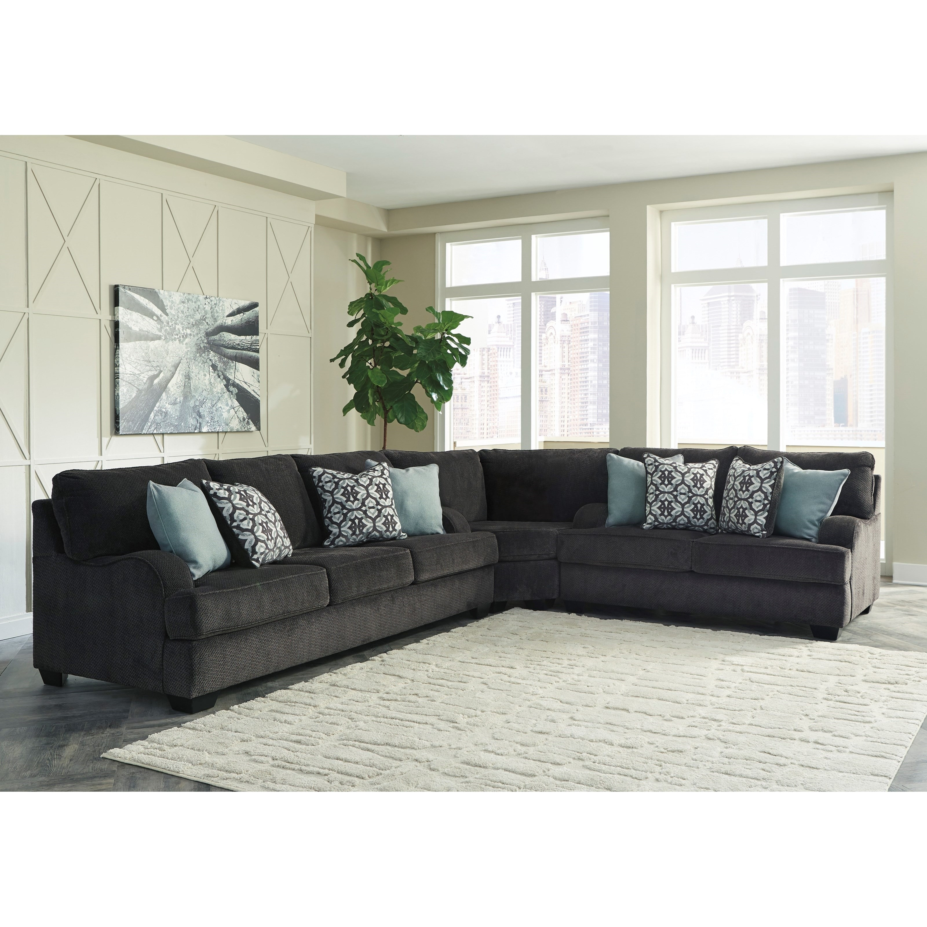 Luxury Splitting Up A Sectional Sofa Hiding Unfinished Side With Jackson Ms Sectional Sofas (Image 7 of 10)