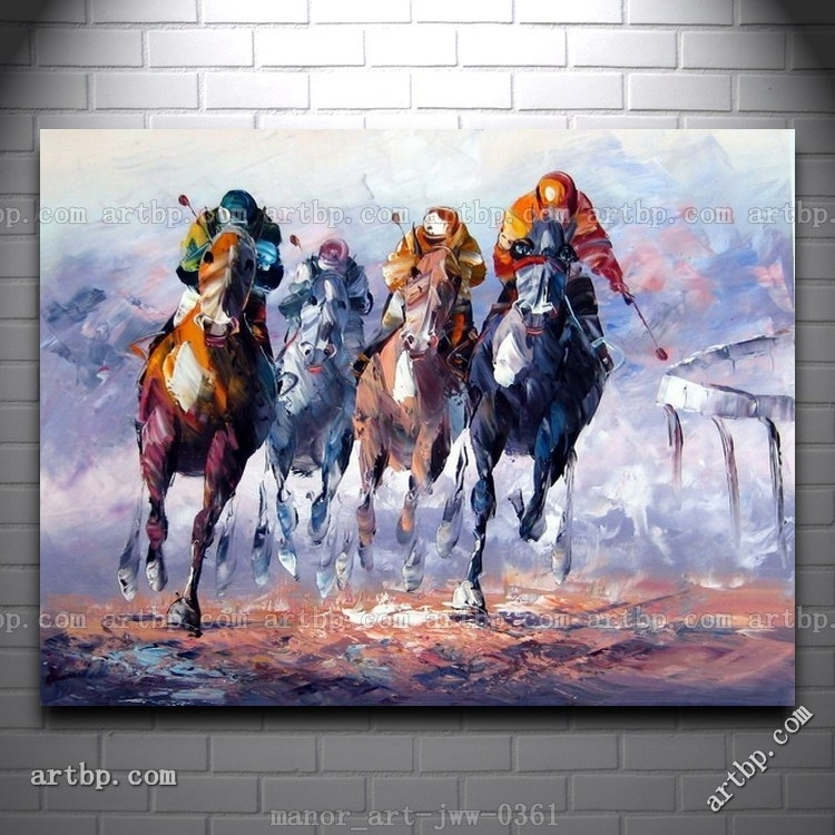 Malerei | Decoration | Pinterest | Wand, Polos And Horse Paintings For Abstract Horse Wall Art (View 4 of 15)