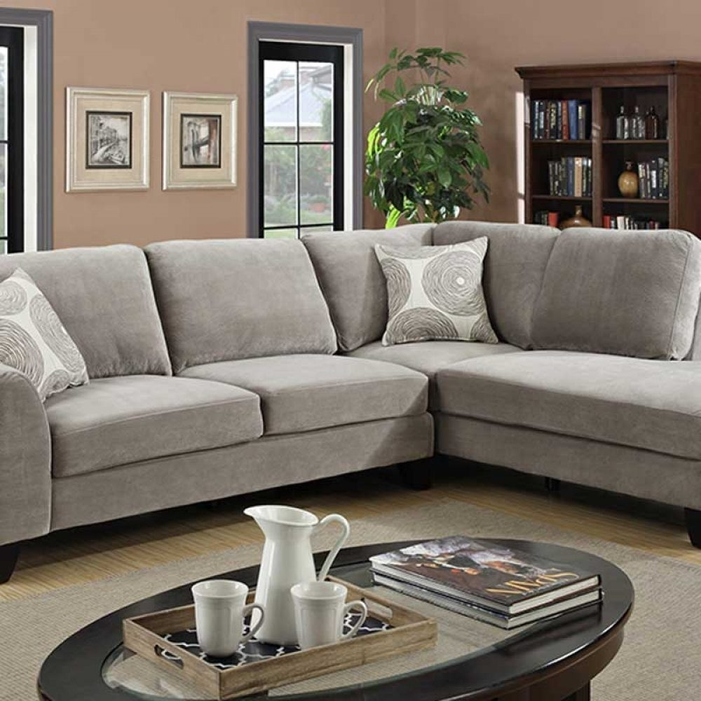 Malibu Gray Sectional – The Furniture Shack | Discount Furniture Intended For Vancouver Wa Sectional Sofas (Image 10 of 10)