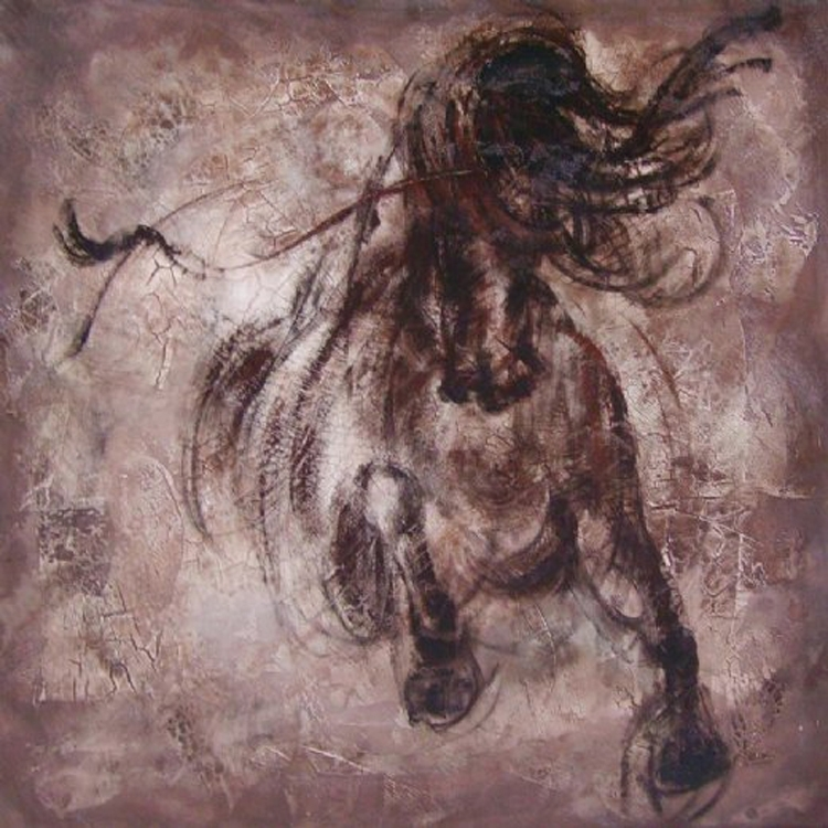 Manufacturer Wholesale High Quality Abstract Animal Oil Painting Inside Abstract Horse Wall Art (View 15 of 15)