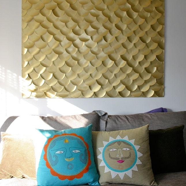 Mari Berbagi Inside Textured Fabric Wall Art (View 9 of 15)