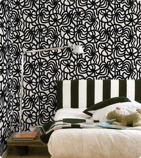 Marimekko Wallcoverings – Design*sponge Within Marimekko Stretched Fabric Wall Art (Image 13 of 15)