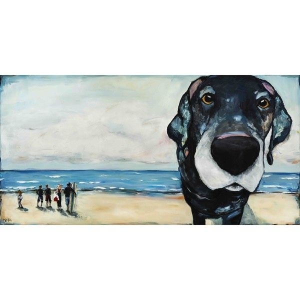 Marmont Hill – Macdaddytori Campisi Painting Print On Canvas With Dogs Canvas Wall Art (View 12 of 15)