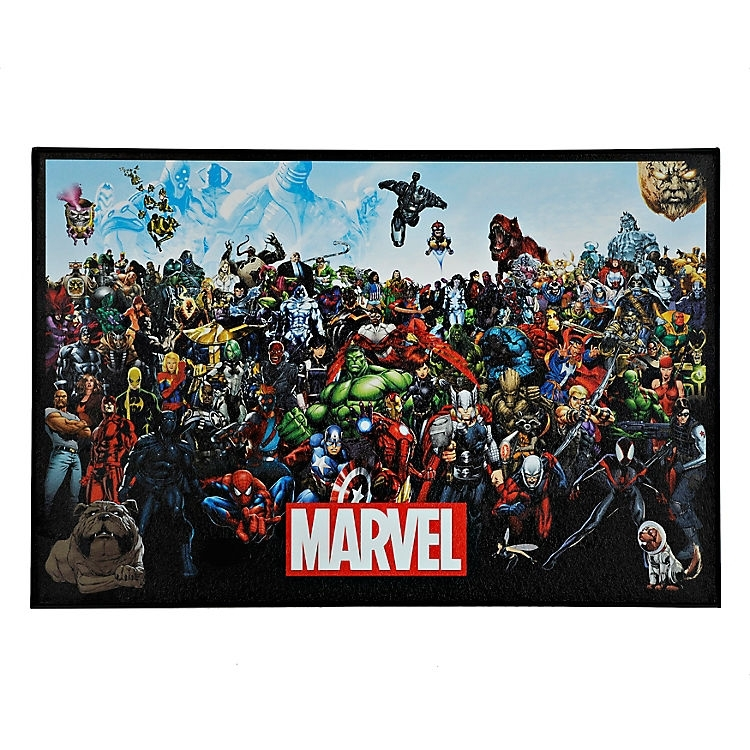 Marvel Lineup Framed Art Print | Kirklands | Logans Room Inside Framed Comic Art Prints (Image 11 of 15)