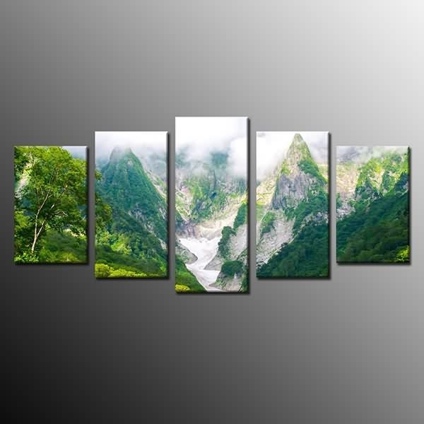 Massive Selection For Framed Landscape Canvas Print Green Mountain For Ottawa Canvas Wall Art (View 12 of 15)