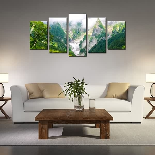 Massive Selection For Framed Landscape Canvas Print Green Mountain With Regard To Ottawa Canvas Wall Art (View 4 of 15)