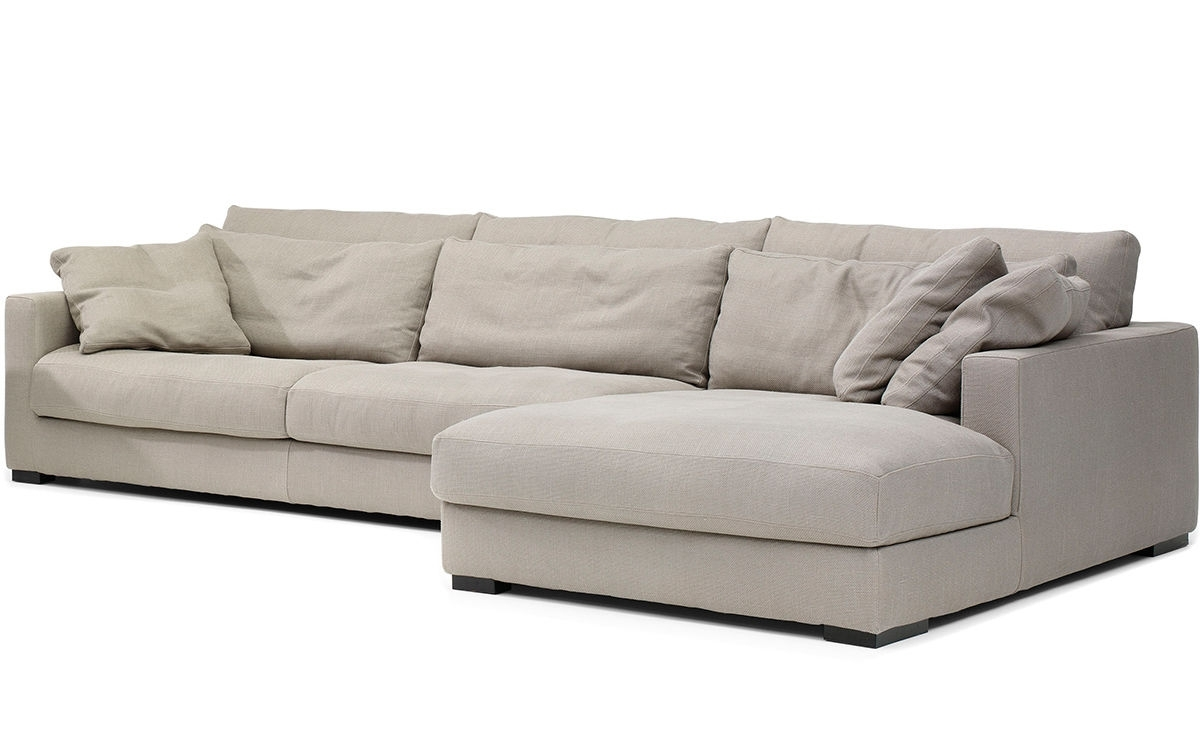 Mauro Sectional Sofa – Hivemodern With Down Feather Sectional Sofas (View 5 of 10)
