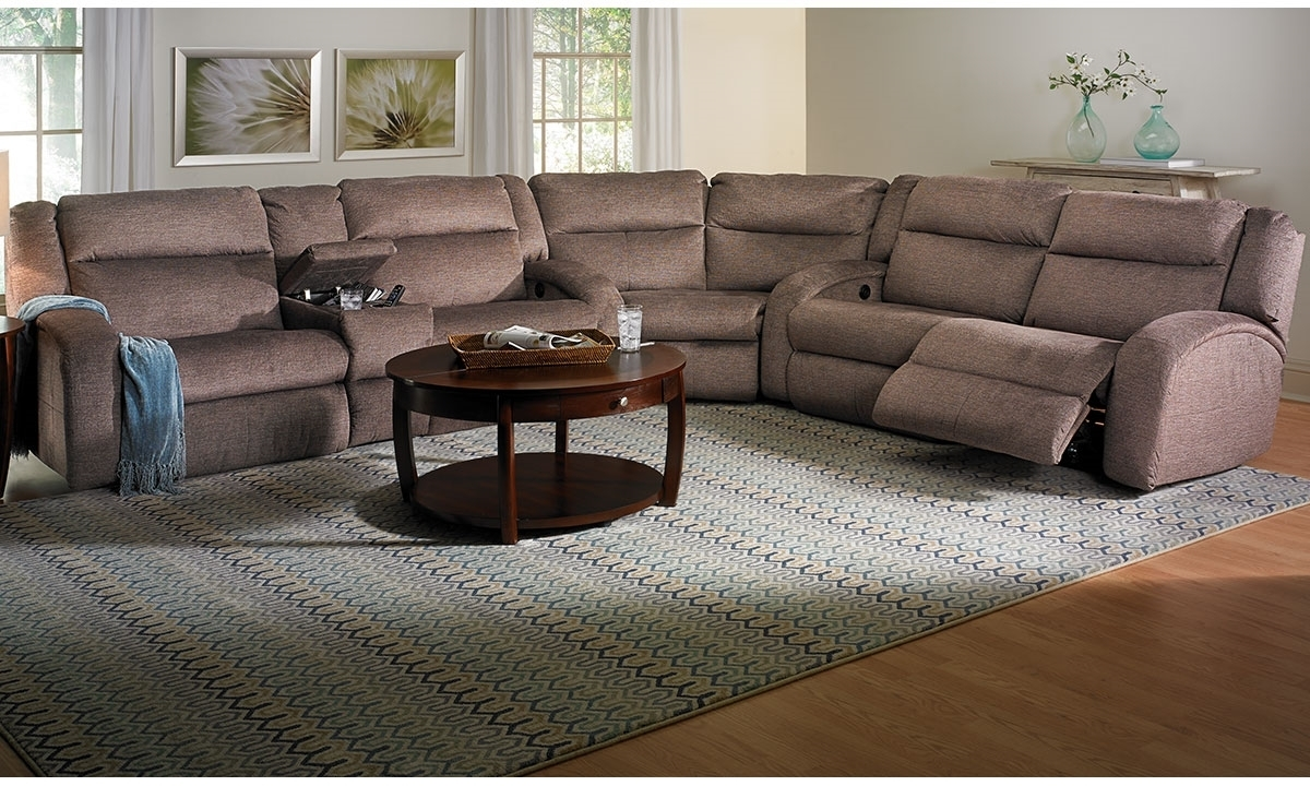 Maverick Memory Foam Power Reclining Sectional | Haynes Furniture With Haynes Sectional Sofas (Image 7 of 10)