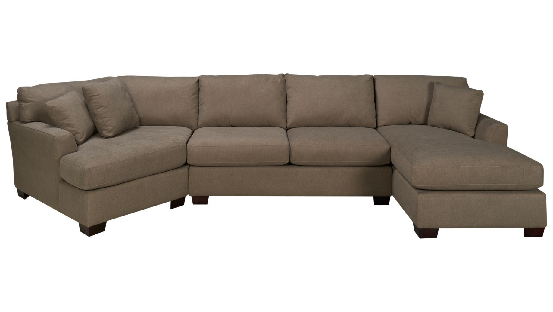 Max Home Jessica Jessica 3 Piece Sectional – Jordan's Furniture Within Jordans Sectional Sofas (View 7 of 10)